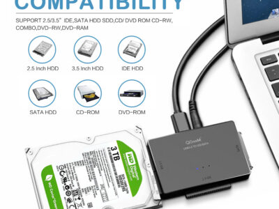 Переходник SATA/IDE USB адаптер QGeeM
